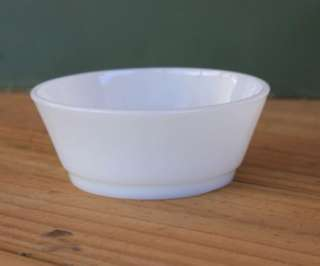 White Bowl Oven Pr Anchor Hocking Fire King Made in USA