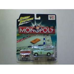 MONOPOLY JOHNNY LIGHTNING 55 CHEVY CAMEO PICK UP