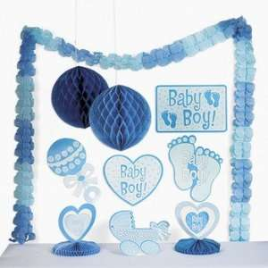 Boy Shower Decorating Kit   Party Decorations & Hanging Decorations