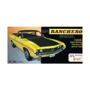 1971 FORD RANCHERO Sales Brochure Literature Book
