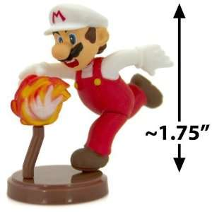 Fire Mario ~1.75 Mini Figure [Super Mario Choco Egg Mini