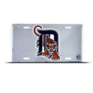 Detroit Tigers Mlb Metal Sport License Plate Wall Sign Tag