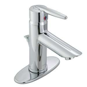 Grail Single Handle Centerset Bathroom Faucet   3.6 Spout