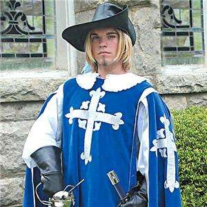 MUSKETEER Renaissance Mens TABBARD and SHIRT COSTUME
