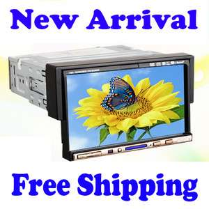 Screen Car Stereo DVD Player FM/AM Ipod Bluetooth Head Unit