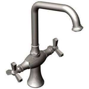 Rubinet Faucets 8DRBHXC Single Hole Kitchen Set Satin