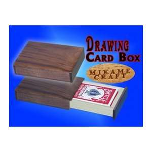 Drawing Card Box  Walnut  MKE  Card General Magic Toys & Games