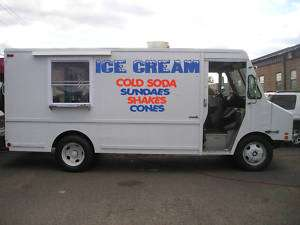 ICE CREAM TRUCK LETTERING VINYL STICKER DECALS KIT 12
