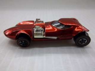 VINTAGE MATTEL HOT WHEELS 164 SCALE REDLINE 1968 TWINMILL RED DIECAST