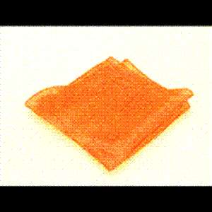 ORANGE 6 MAGIC SILK Hanky Prop Magic Tricks Accessory