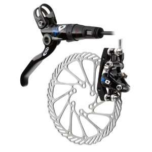 Avid Elixir X.0 185mm Left/Front Disc Brake (Black/Blue