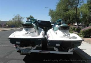 1996 Sea Doo Bombardier GTX Jet Ski Plus Two Ski Trailer