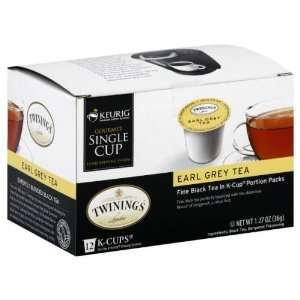 Twining Tea, Tea 12Kcup Earl Grey, 1.27 Grocery & Gourmet Food