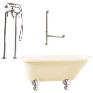 Giagni LA2 BN B Augusta Floor Mounted Faucet Package