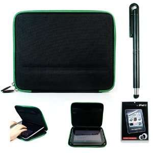 Apple iPad + Anti Glare Screen Protector + Soft Touch Stylus Pen for