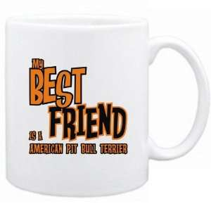 New  My Best Friend Is A American Pit Bull Terrier  Mug