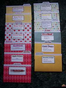 13 Language Arts Mini File Folder Games for 3rd grade