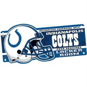 Indianapolis Colts   Locker Room Sign, NFL Pro Football Patio, Lawn