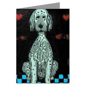 English Setter Dog Greeting Cards Pk of 10 by  Health