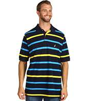 Nautica Big & Tall   Big & Tall Striped S/S Polo