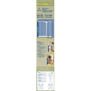 Bindaboo Extra Tall Extension Gate 7 WHITE Kitchen