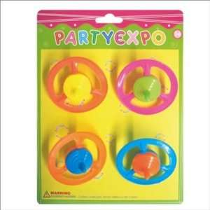 Diameter 6.2Cm Disc Spinning Top X4* Toys & Games