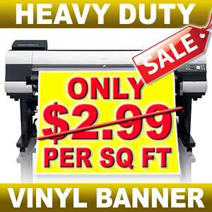 Sign Printing Durable Vinyl Banner Sign Graphics Print