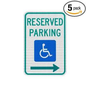 Elderlee, Inc. 9112.78005 Handicapped Parking Sign, Reserved Parking