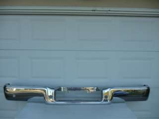 FORD F150 REAR CHROME BUMPER OEM 06 07 08