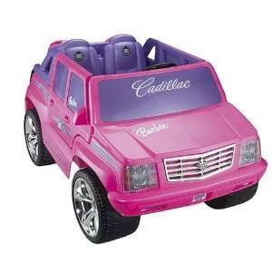 Power Wheels Barbie Cadillac Escalade Toys & Games