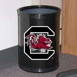 South Carolina Gamecocks Black Team Wastebasket