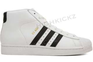 Adidas Pro Model G49852 New Men White Black Gold Casual Retro