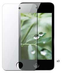 Anti glare Screen Protector for iPod Touch 4 (Pack of 3)
