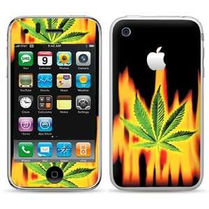 FREE Anti Glare Screen Protector Fire burning Green Light  Players