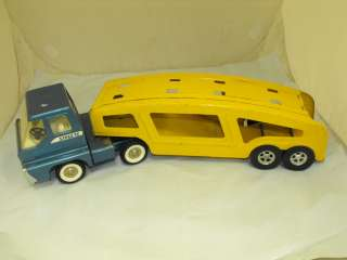 VTG Structo Turbine Car Carrier 23L Blue & Yellow Canada Pat. 1966