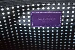 NWT KATE SPADE ALPINE HILLS PURPLE STEVIE PURSE BAG