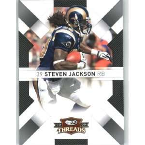 Steven Jackson   St. Louis Rams   2009 Donruss Threads NFL