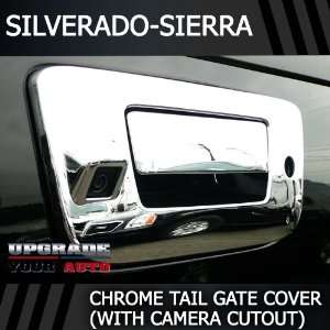 2010 2012 GMC Sierra Chrome Tailgate Cover With Camera and