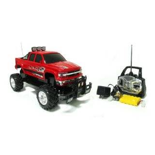110 Scale Radio Control Maxxed Out Chevy Silverado Toys
