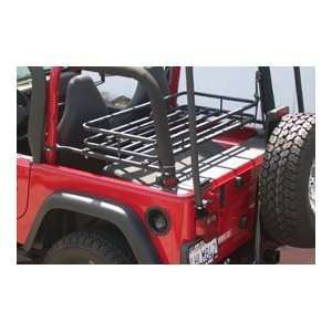 Rack, Mountaineer Rubicon Black 1997 2006 Jeep Wrangler TJ # 907 124