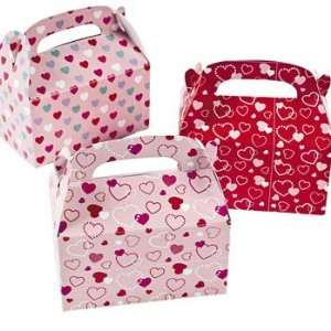 Mini Valentines Day Treat Boxes   Party Favor & Goody Bags & Paper