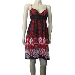 Twelve Womens Lace Flower Print Dress