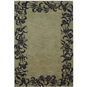 Safavieh Rugs Soho Collection SOH773B 6SQ Gold/Black 6 x