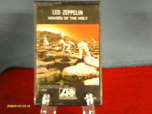 LED ZEPPELIN HOUSES OF THE HOLY   CASSETTE