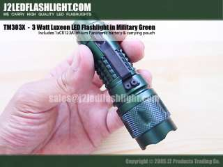 only carries high end, high quality LUXEON LED flashlights