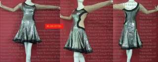 XXL Crystal Innate Sequin Latin Salsa Samba dance dress