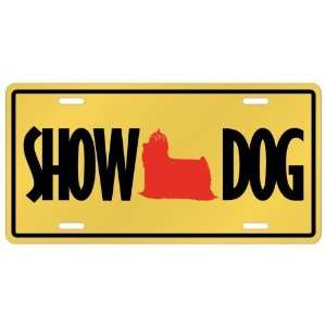 Yorkshire Terriers / Show Dog  License Plate Dog