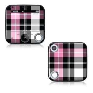 Nokia Twist 7705 Skin Cover Case Decal Pink Plaid