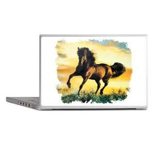 Laptop Notebook 13 Skin Cover Horse at Sunset