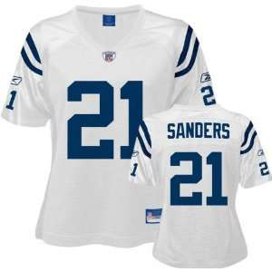 Bob Sanders White Reebok Replica Indianapolis Colts Womens Jersey